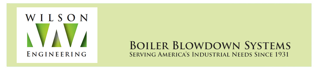 Wilson Engineering  |  Boiler Blowdown Systems Logo